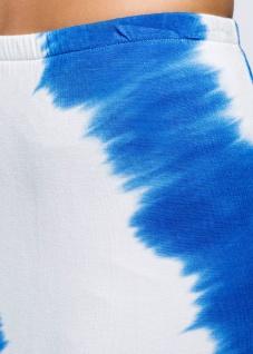 Bodyflirt Damen Batik Shirtrock lang Rock Skirt ecrú azurblau Gr. 32/34 904744 - Vorschau 4