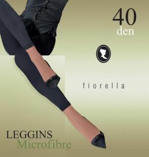 Leggings Leggins Schwarz blickdicht 40 den S M L XL