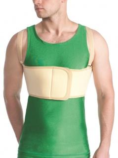 Herren Bandage Brustkorb Fixierung Rücken Gurt Stütze Klettverschluss MT4301