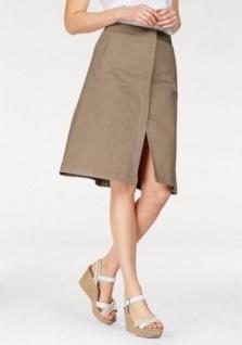 Corley Webrock Rock knielang Skirt Stretch beige 670451