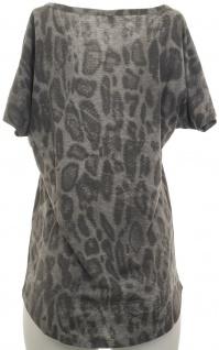 Corley Shirt Schlangenmuster T-Shirt Bluse Tunika Hemd Grau Snake Print 327949