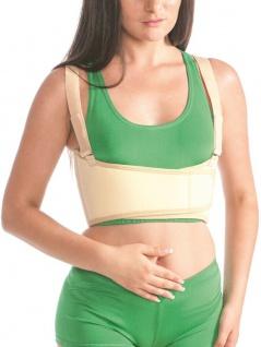 Bandage Brustkorb Brust Rücken Fixierung Klettverschluss Damen MT4302