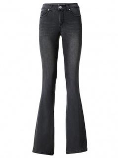 AJC Damen Schlagjeans Schlaghose Bootcut Hose Jeans Stretch