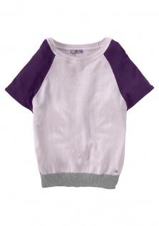AJC Damen Pullover Shirt Feinstrick Pulli Weste Jacke hellrosa Gr. 32/34 652270