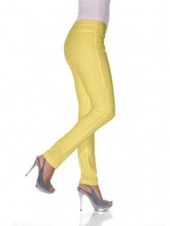 B.C. Damen Jeans-Leggings Hose lang Leggins Röhre Stretch gelb 022084 033795 - Vorschau 2