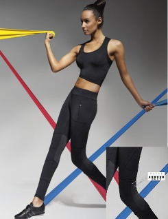 Sport Hose Leggings Radler Jogging Yoga Fitness Sporthose Style Trinity
