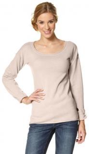 the latest f990c 42478 FLG Damen Pullover Shirt langarm Pulli Feinstrick Gr. 32/34 rosa 428436