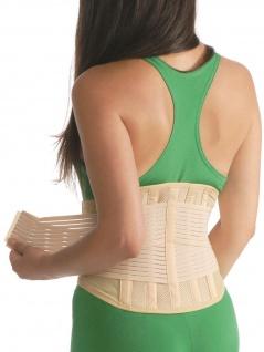 Rückenbandage Rückenstütze Bandage Korsett Rücken Kreuz Stütze Gurt 3028