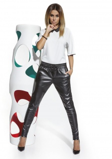 Fashion Hose Kunstleder Kunst-Leder Schlupfhose Eco-Leather Dakota Leggings