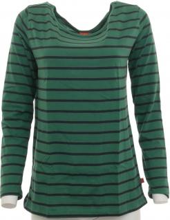 CFL Kinder Bluse Langarm Shirt Tunika Streifen dunkelgrün Gr. 176/182 408802