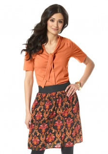 Chillytime Damen T-Shirt Bluse Hemd orange 511024