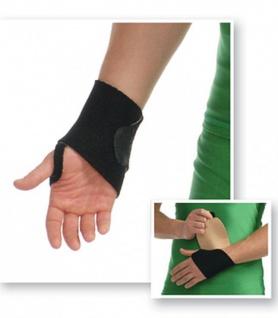 Regulierbare Bandage Handgelenk Hand Schiene Stütze Aeropren beige 8514