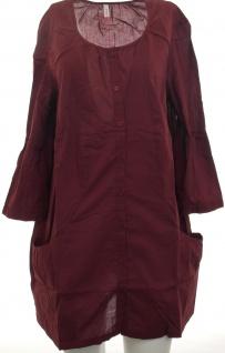 Sheego Damen Hemd Bluse Tunika Shirt dunkelrot 365075 - Vorschau