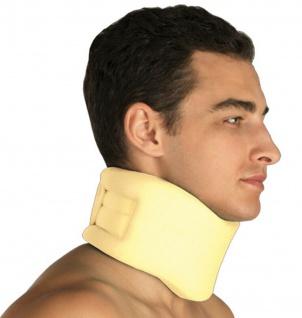 Hals-Bandage Nacken Halskrause Nacken-Stütze Klettverschluss Polster 20-0411