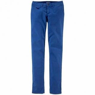 AJC Damen Hose Streifen Stretch Jeans Chino blau 38 823049