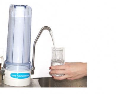 WASSERFILTER Wasser Auftisch Anlage neben der Spüle, Filter PP 5mm