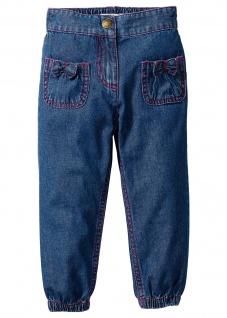 John Baner Kinder Hose Sommerhose Jeans Teilgummibund blue stone 917054