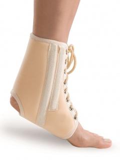 Sprunggelenkbandage Fuß Bandage Strumpf Verstärkungsrippen Polster wärmend 7001 - Vorschau 2