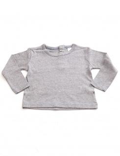 Kinder Pullover Shirt Langarm Pulli Sweatshirt Knopfleiste Baby BFL