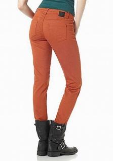 Material Girl Röhre Stretch Jeans Hose Hüfte Orange 417011