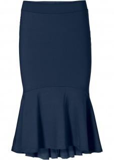 Bodyflirt Volantrock Volant Rock Skirt knieumspielend dunkelblau 32/34 979903