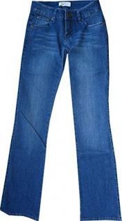 J Jayz Damen Jeans Stretch Bootcut Waschung Hose Jeanshose Chinos 876884