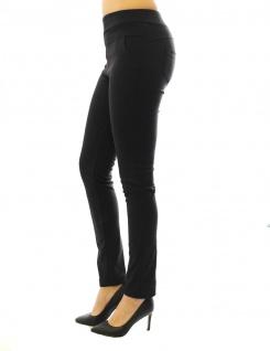 Hose Stretch Stretchhose Elegante Stoffhose Schlupfhose Taschen Damen Röre - Vorschau 2