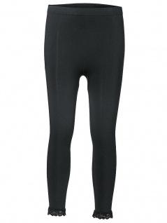 Heine Capri-Miederleggings Leggings Hose 3/4 Spitze Po-Push-Up schwarz 017676