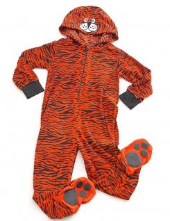 Kinder Schlafanzug warm Animation Jumpsuit Overall Tiere Nachtwäsche Store-21-F - Vorschau 4