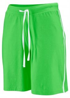 BPC Damen Sport Bermuda Shorts kurze Hose Gummibund grün Gr. 32/34 967341