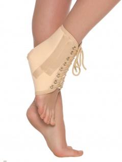 Sprunggelenkbandage Fuß Bandage Strumpf Verstärkungsrippen Polster wärmend 7001