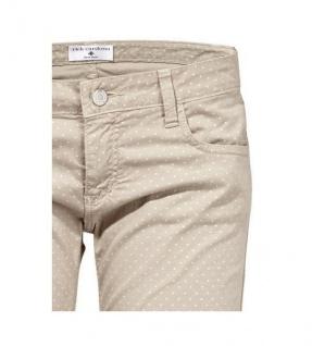 Rick Cardona Damen Chinohose Hose Chino Punkte-Muster Jeans Stretch grau 016700 - Vorschau 2