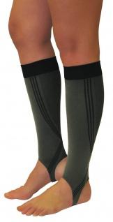 Elastische Sport Kompressions Stulpen Knie Strümpfe Steg Beine Laufen 0408-02 - Vorschau 2
