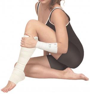 Elastischer Verband Kompressionsbinde Binde Bandage mittlere Dehnbarkeit