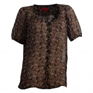 Vivien Caron Longbluse Streublümchen Shirt Tunika Bluse Top T-Shirt Hemd 797917