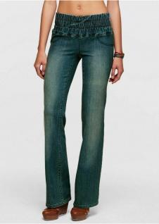 Damen Aniston Jeans Leggings Leggins Treggings Hose Stretch Gr. 36 grau 256872