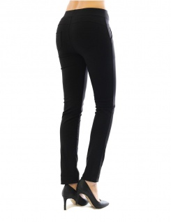 Hose Stretch Stretchhose Elegante Stoffhose Schlupfhose Taschen Damen Röre - Vorschau 3
