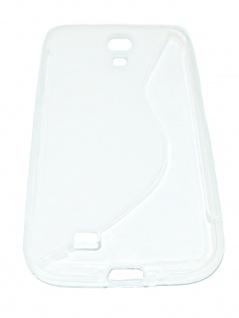 Handyhülle Mobilgerät Schutzhülle Tasche Silikon Hardcase passend für Galaxy S4 - Vorschau 3
