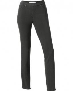 Ashley Brooke Jeggings Leggings lang Hose Stretch dunkelgrün Kurzgröße 179524