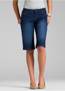 John Baner Jeans Bermuda kurze Hose Shorts Stretch dunkelblau Gr. 34 934901