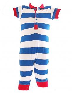 Kinder Jumpsuit Overall Streifen Strampler Romper Einteiler BS-0634