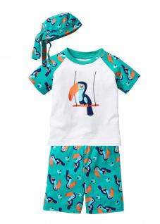 BPC Baby T-Shirt Shorts Bandana (3-tlg.) kurze Hose Shirt Bio-Baumwolle 918600
