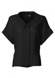Bodyflirt Damen Bluse Tunika Kurzarm Hemd Shirt schwarz 915379