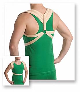 Klavikula Bandage Reklinator starke Fixierung Rücken-Halter Stütz-Gurt 2024