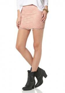 AJC Spitzenrock Rock Spitze Minirock Mini Skirt altrosa 851628