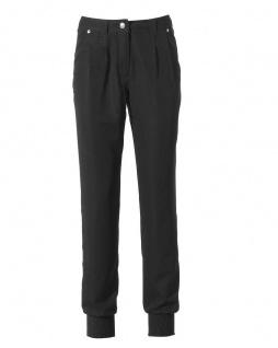 Mandarin Damen Bundfaltenhose Boyfriend-Style Bundfalten Hose Farbe sand 017292 - Vorschau 4