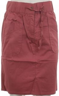 Boysen's Damen Rock Stretchrock Knielang Taschen Skirt Stretch rosenholz 314866