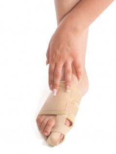 Abduktionsbandage Bandage Großzeh Fuß Zehen Manschette Vorfuß Fixierung 7707