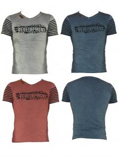 Herren Shirt T-Shirt Poloshirt Tank Top Hemd Kurzarm Figurbetont XH-66518
