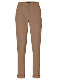 Bodyflirt Damen Chino Hose Stretch Jeans Chinohose Taupe Gr. 34 914951